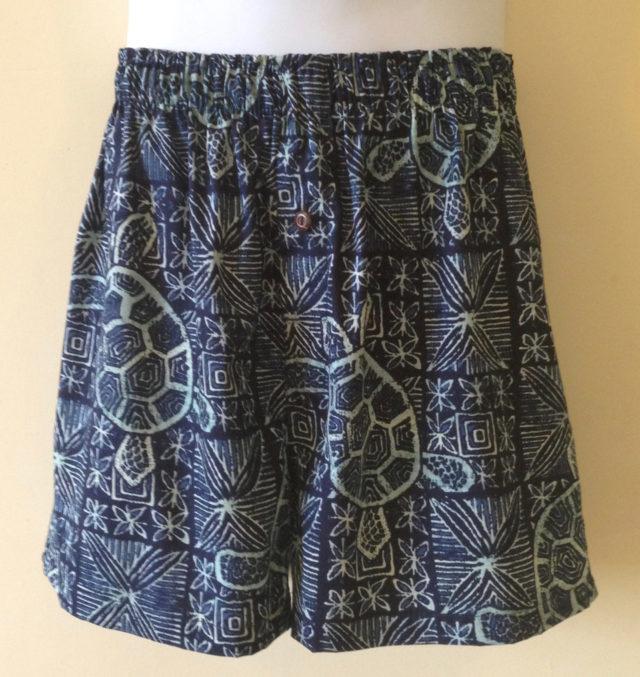 Indigo Honu Kane Boxer Shorts