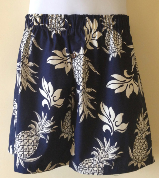 Royal Pineapple Kane Boxer Shorts