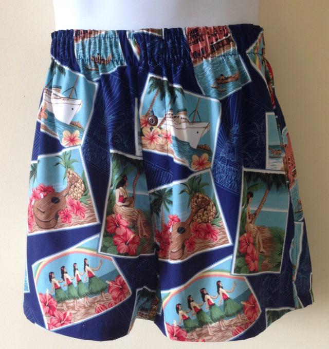 Hula Halau Kane Boxer Shorts