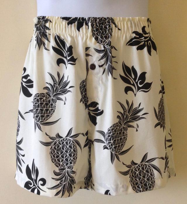 Royal Pineapple Kane Boxer Shorts